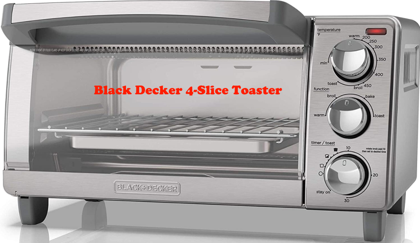 Black Decker 4-Slice Toaster