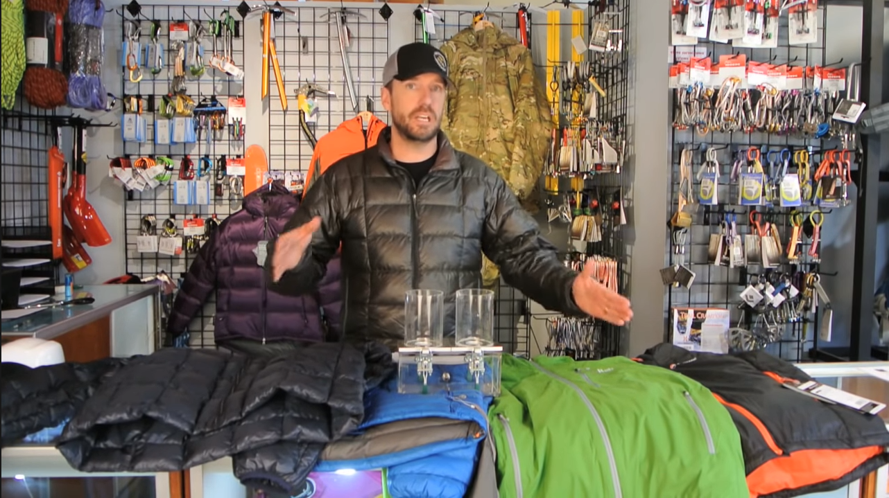 Sleeping Bag Insulation Down vs Synthetic