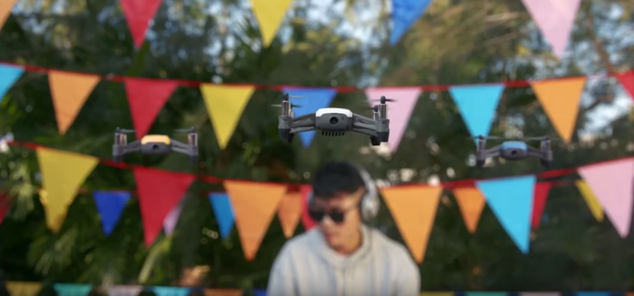 The top selfie drone