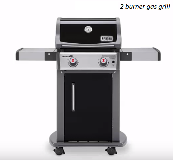 best 2 burner gas grill